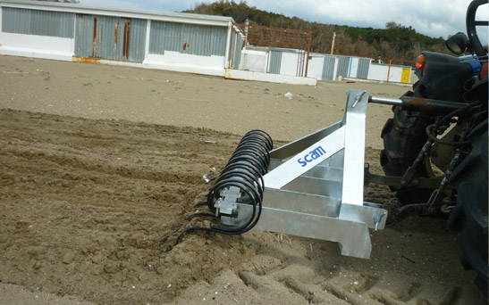 Beach Rake Machine For Sale