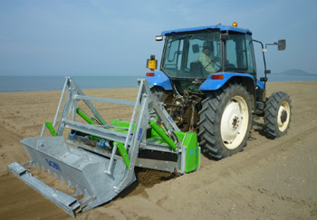 Beach Cleaning For Tractors